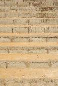 Close up of brick stair — Stock Photo
