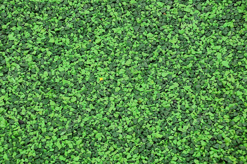 Texture of green rubber floor stock photo pockygallery 11948347 - Different type de gazon ...
