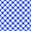 Royalty-Free Stock Vector Image: Blue and white tablecloth