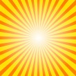 sunburst background — Stock Vector