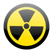 Sign of radiation — Stock Vector