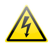 Sign of danger high voltage symbol — Stock Vector