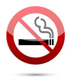 No smoking sign — Vetorial Stock