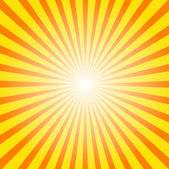 Sunburst background — Stock vektor