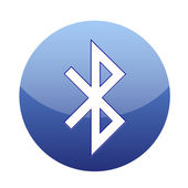 Bluetooth icon — Stock Vector