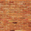 Stock Photo: Orange brick wall texture