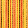 Striped colorful fabric texture — Stock Photo