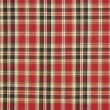 Stock Photo: Texture of plaid fabric