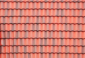Close up of red roof — Foto de Stock
