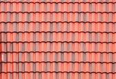 Close-up de telhado vermelho — Foto Stock