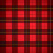 Wallace tartan Scottish plaid — Stock Vector