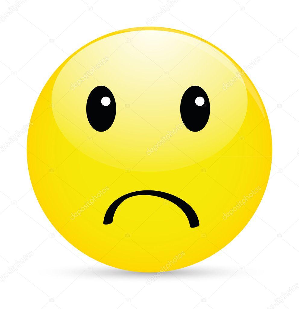 Downloaden - Ongelukkig smiley icoon op wit — Stockillustratie ...: nl.depositphotos.com/12034698/stock-illustration-unhappy-smiley...