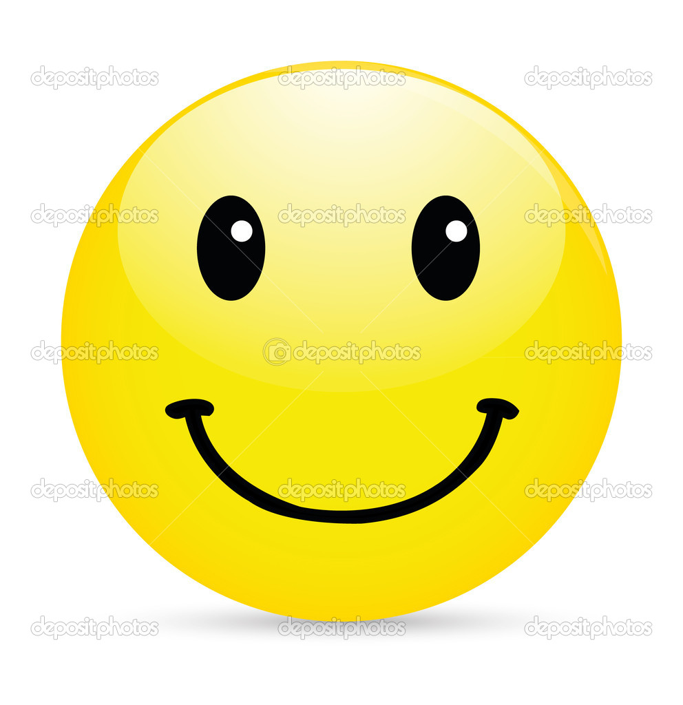 Smiley Face Clipart Bl...