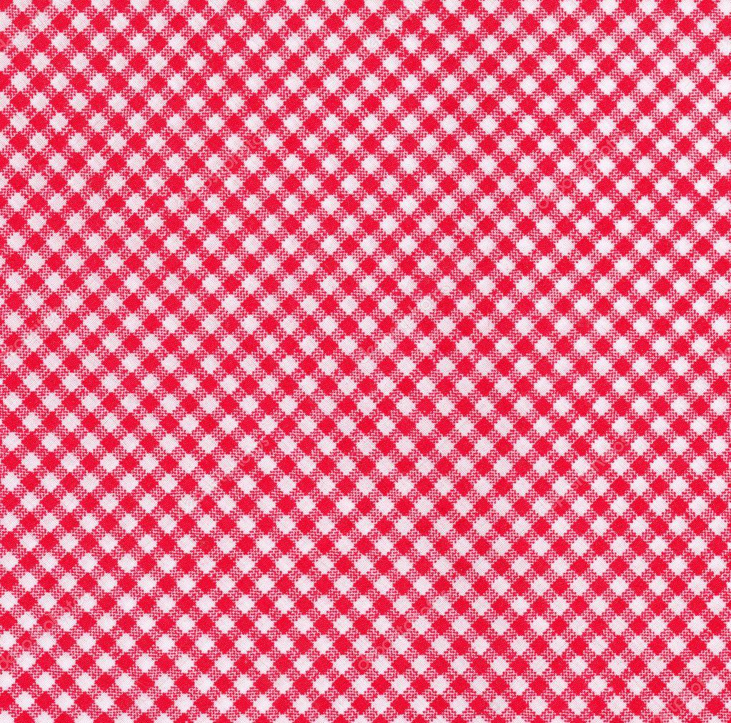Toalha de mesa vermelha e branca fotografias de stock