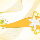 Streszczenie kwiatów tle — Wektor stockowy