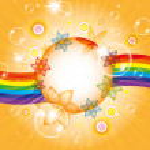 Fondo de verano colorido — Foto de Stock   #12318156