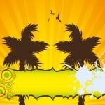arrière-plan coloré de l'été — Photo #12318158