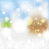 Abstract winter background — Foto Stock