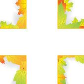 Astratto autunno — Vettoriale Stock