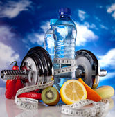фитнес-питание — Стоковое фото