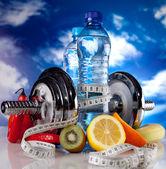 Fitness voeding — Stockfoto