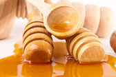 Honey sticks — Stockfoto