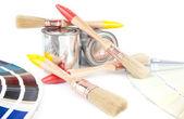 Pinceles para pintar — Foto de Stock