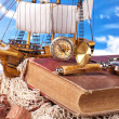 Stock Photo: Maritime adventure story