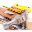 Carpenter tools — Stock Photo