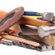 Stock Photo: Carpenter tools