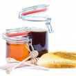 Honey jar — Stock Photo #11563857