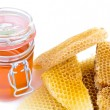 Honey jar — Stock Photo #11564014