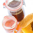 Honey jar — Stock Photo #11564022