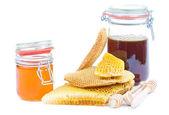 Honung burkar — Stockfoto