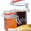 Honey jar — Stock Photo #11584613