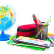 Stock Photo: School supplies