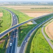 Stock Photo: Aerial view of highway