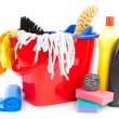 Cleaning supplies — Lizenzfreies Foto