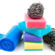 Cleaning supplies - Foto Stock