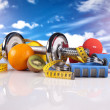 Fitness equipment — Stock Photo #12305492