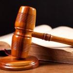 sędzia młotek — Zdjęcie stockowe