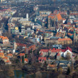 Aerial view of Opole city in Poland — Stock Photo #12351023