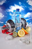 Fitness gear — Stock Photo