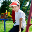 Stock Photo: Boy on playground