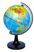 Globe isolated on white background — Stock Photo
