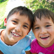 Two happy children — Stock Photo #11958769