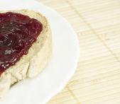 Pane con marmellata. — Foto Stock