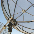 Satellite Dish Wireless Communication — Stock Photo