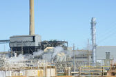 Industrial power Station Plant — Stock Photo