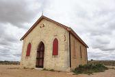 Church in Australian ghost town — Stock Photo